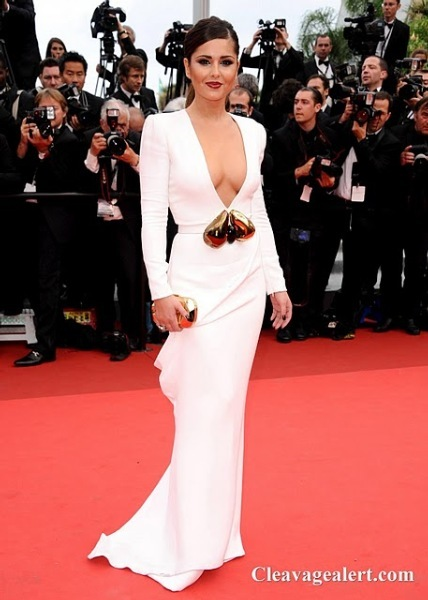 cheryl cole sexy cleavage at habemus papam premiere in cannes 3 final 1